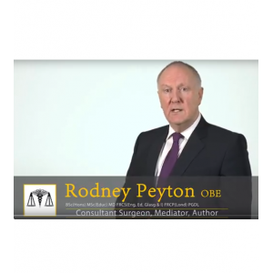 Mr James William Rodney Peyton OBE TD
